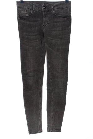 Vero Moda Slim Jeans schwarz meliert Casual-Look