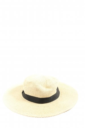 Vero Moda Kapelusz przeciwsłoneczny w kolorze białej wełny W stylu casual