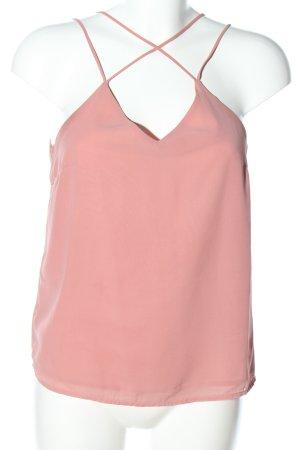 Vero Moda Top con bretelline rosa elegante