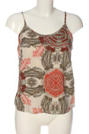 Vero Moda Spaghettiträger Top Allover-Druck Casual-Look