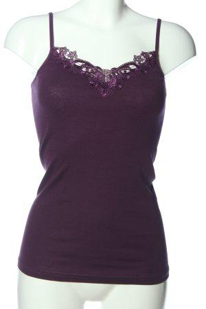 Vero Moda Top z cienkimi ramiączkami fiolet W stylu casual
