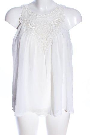 Vero Moda Kanten blouse wit elegant