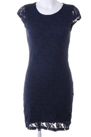 Vero Moda Lace Dress blue flower pattern elegant