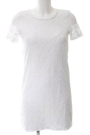 Vero Moda Robe en dentelle blanc élégant