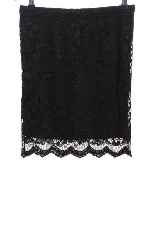 Vero Moda Lace Skirt black elegant