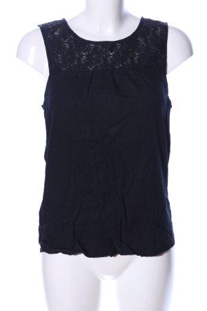 Vero Moda Kanten topje zwart casual uitstraling