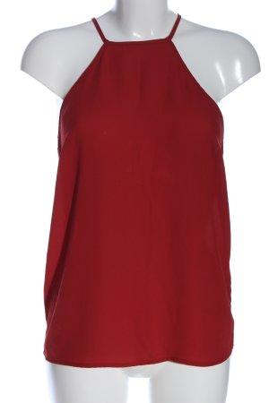 Vero Moda Kanten topje rood casual uitstraling
