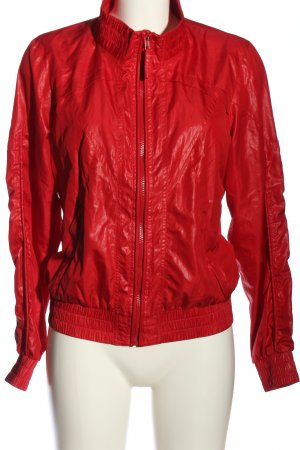 Vero Moda Sportjack rood casual uitstraling