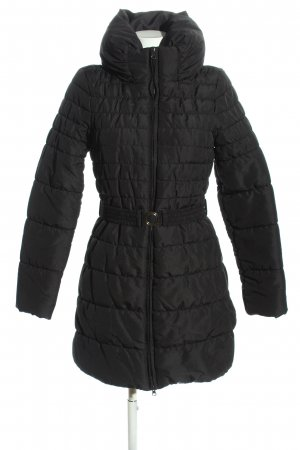 Vero Moda Quilted Coat black quilting pattern casual look