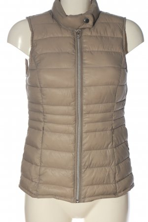Vero Moda Quilted Gilet cream quilting pattern casual look