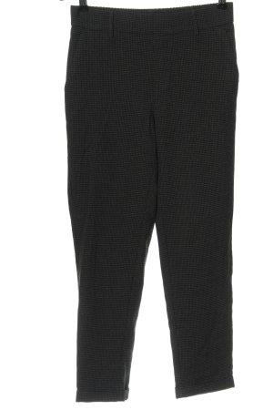 Vero Moda Pantalón tipo suéter negro-gris claro estampado a cuadros