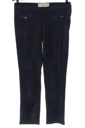 Vero Moda Pantalón tipo suéter negro look casual