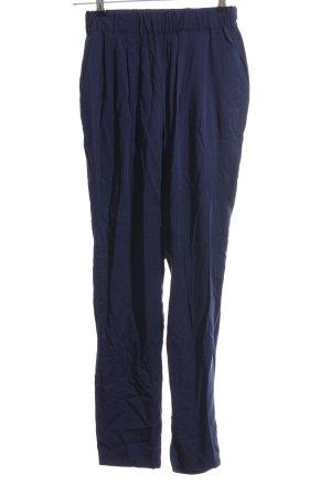 Vero Moda Stoffhose blau Casual-Look