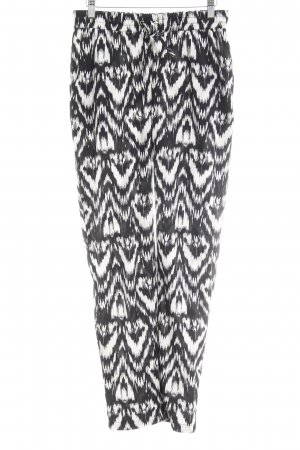 Vero Moda Stoffhose schwarz-weiß Farbverlauf Casual-Look