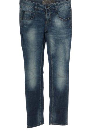 Vero Moda Hüftjeans blau Casual-Look