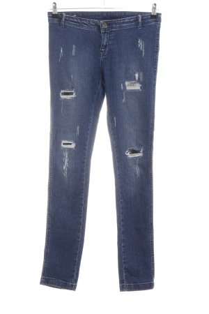 Vero Moda Stretch Jeans blau Casual-Look