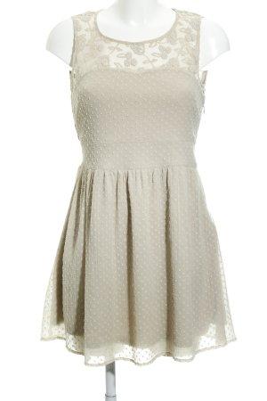 Vero Moda Stretchkleid beige Casual-Look