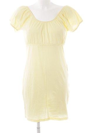 Vero Moda Stretchkleid gelb Casual-Look