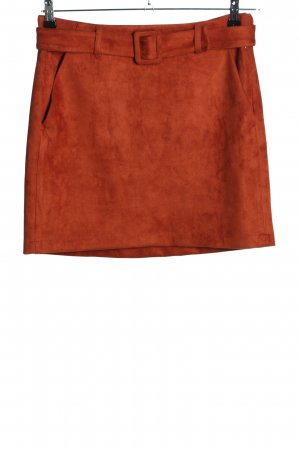 Vero Moda Jupe stretch orange clair style décontracté