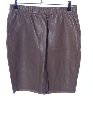Vero Moda Stretch rok bruin casual uitstraling
