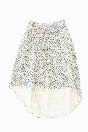 Vero Moda Stretchrock Größe L mit Blumenmuster mehrfarbig