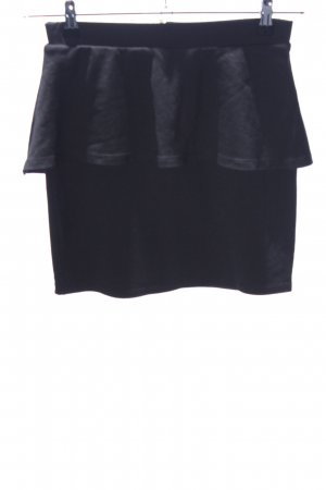 Vero Moda Stretch Skirt black mixture fibre