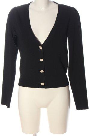 Vero Moda Cardigan in maglia nero puntinato stile casual