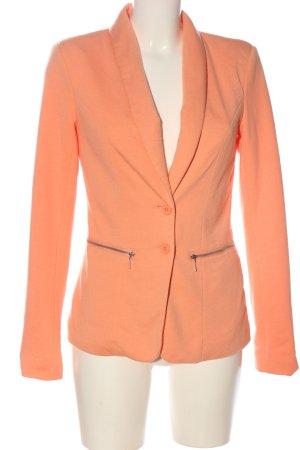 Vero Moda Korte blazer licht Oranje zakelijke stijl