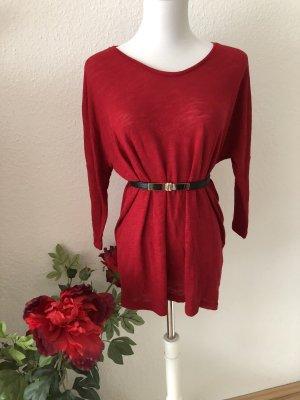 Vero Moda Short Sleeve Sweater red-dark red