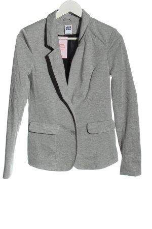 Vero Moda Knitted Blazer light grey flecked casual look