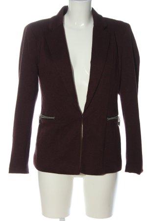 Vero Moda Knitted Blazer brown flecked casual look