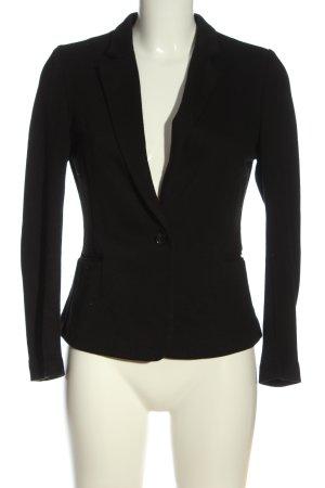 Vero Moda Blazer tejido negro estilo «business»