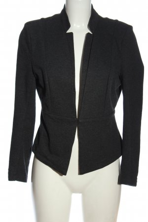 Vero Moda Knitted Blazer black flecked casual look