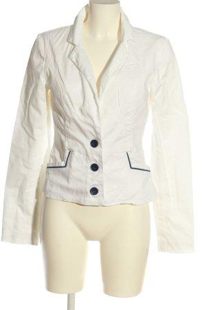 Vero Moda Gebreide blazer wit zakelijke stijl
