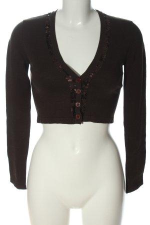 Vero Moda Knitted Bolero black casual look