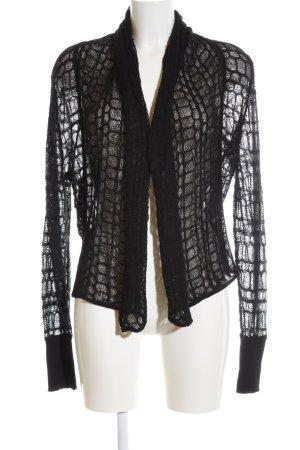 Vero Moda Gebreide bolero zwart extravagante stijl