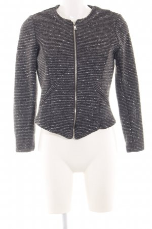 Vero Moda Strickjacke hellgrau-weiß meliert Business-Look