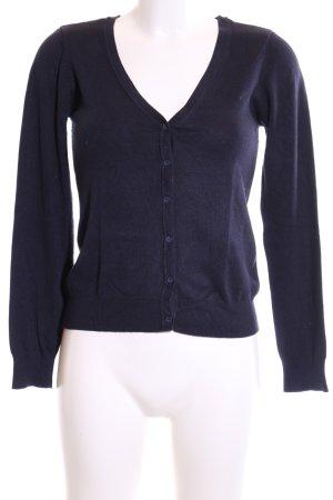 Vero Moda Strickjacke blau Casual-Look
