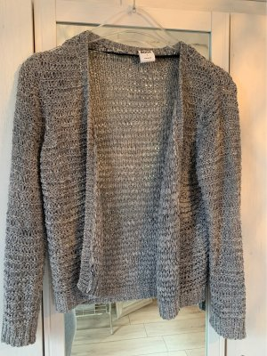Vero Moda Coarse Knitted Jacket silver-colored-light grey