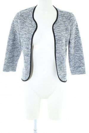 Vero Moda Strickjacke weiß-schwarz meliert Business-Look