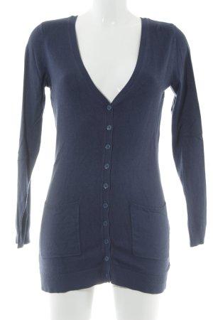 Vero Moda Strickjacke dunkelblau Business-Look