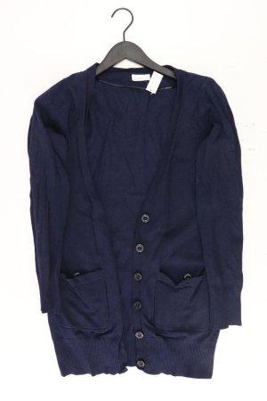 Vero Moda Strickjacke Größe L Langarm blau aus Polyester