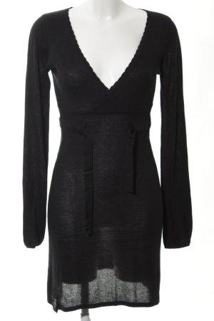 Vero Moda Strickkleid schwarz Elegant