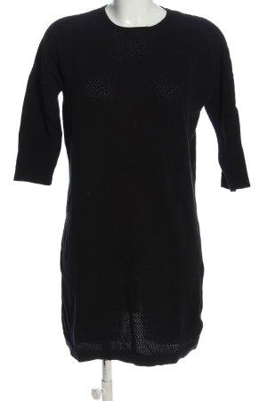 Vero Moda Strickkleid schwarz Casual-Look