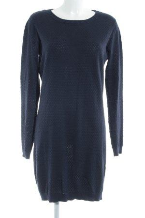 Vero Moda Strickkleid dunkelblau schlichter Stil