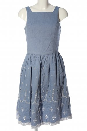 Vero Moda Strickkleid blau Casual-Look