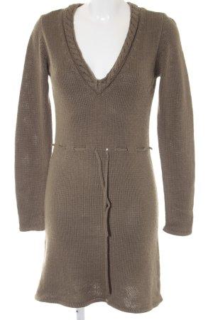 Vero Moda Strickkleid khaki Casual-Look