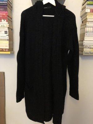 Vero Moda Cappotto a maglia nero