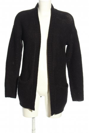 Vero Moda Knitted Coat black casual look