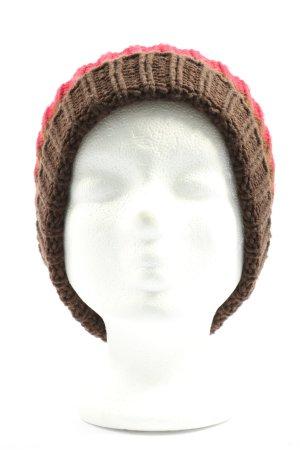 Vero Moda Cappello a maglia motivo a righe stile casual